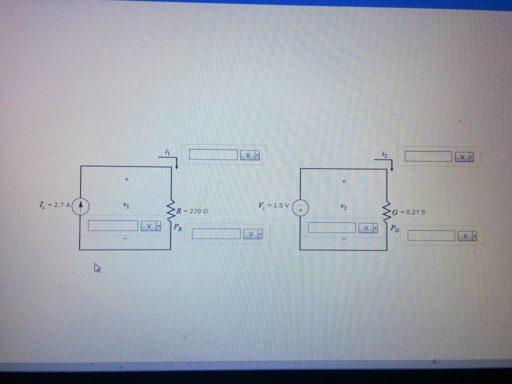 Solved: Part A - Calculation Of Voltage, Current, And Powe ...