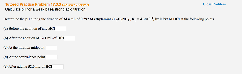 Chemistry Archive March 20 2017 – Titrations Practice Worksheet