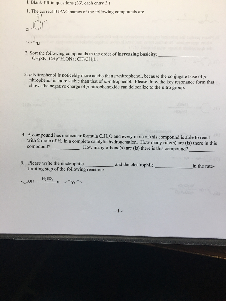 Chemistry archive march 14 2018 chegg i blank fill in questions 33 each entry 3 1 fandeluxe Choice Image