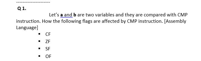 Solved Q1 Lets A And B Are Two Variables And They Are C