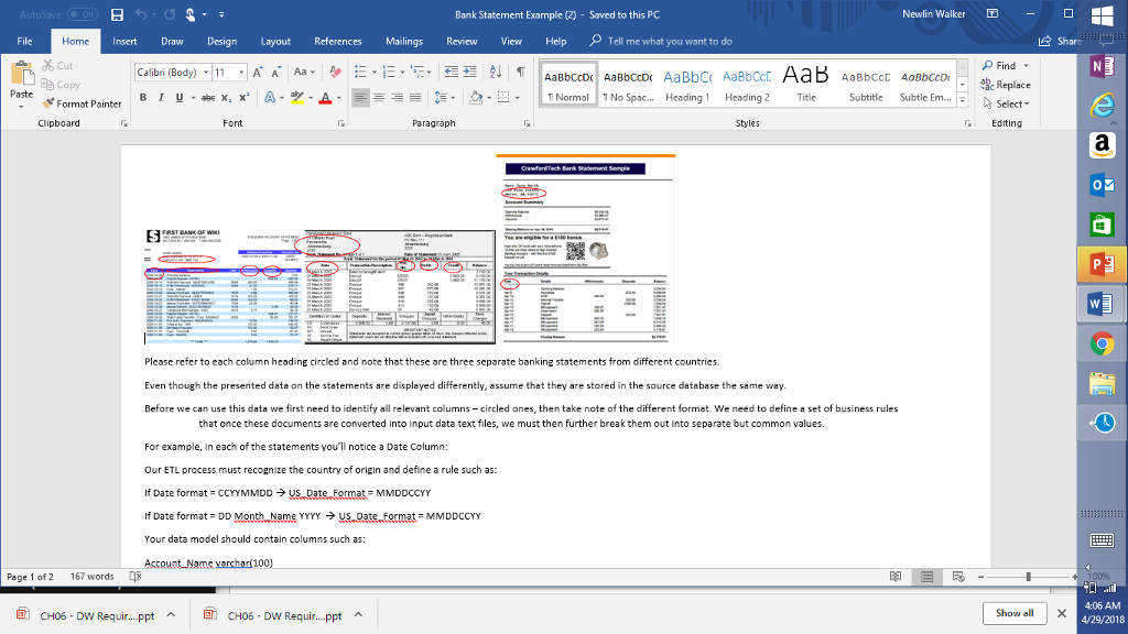 Create a star schema diagram including table names chegg bank statement example 2 saved to this pc newlin walker file ccuart Images