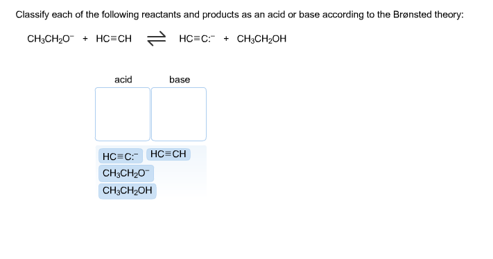 experiment 06 acid base strength of Chemistry of acids and bases t he chemistry of acids and bases is an area of fundamental importance in chemistry in this experiment you will study acid-base equilibria by deter- as the base strength increases, the ph increases.