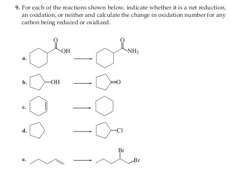 how to calculate change in the oxidation number