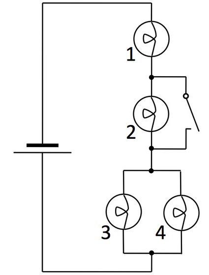 Solved The Depicted Circuit Contains Four Identical Ohmic