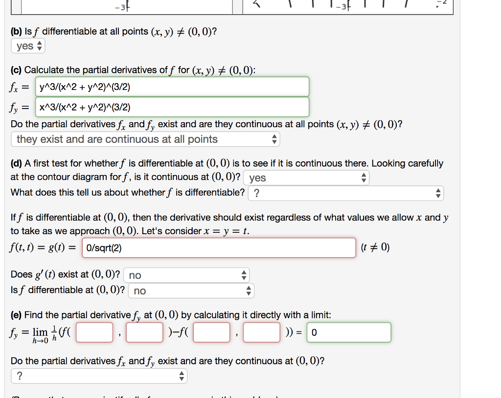 Solved 1 Point Consider The Function X Y 0 0 X Y