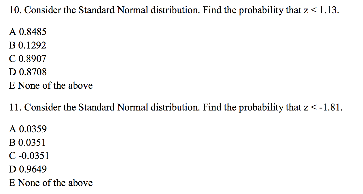 worksheet Probability With Cards Worksheet statistics and probability archive april 24 2016 chegg com consider the standard normal distribution find th