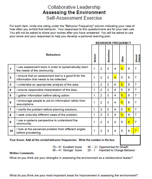 Solved: What Do You Think Are Your Strengths In Assessing ...