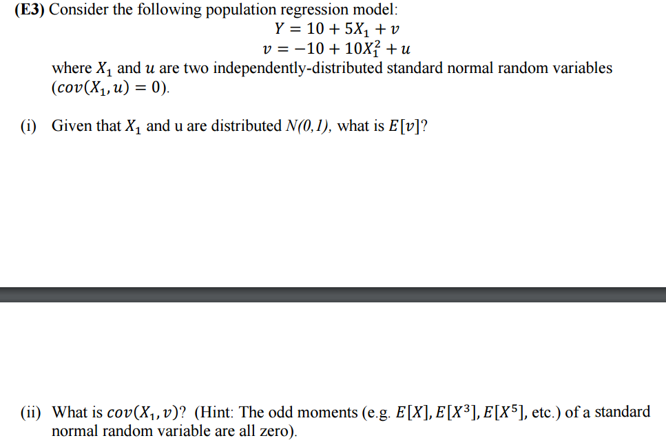 I Have Some Questions I Need Help With Please: Solved: I Have Some Questions About Econometrics. I Want S