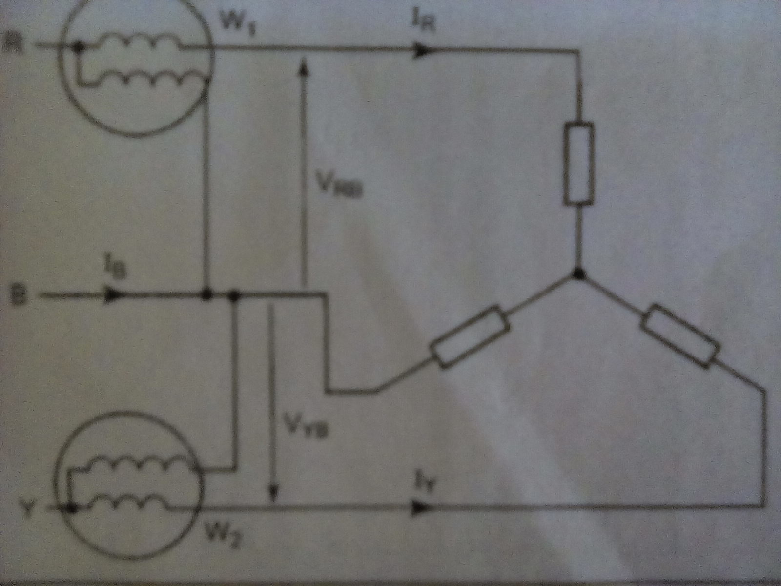 Below figure shows the wiring diagram of the Two W