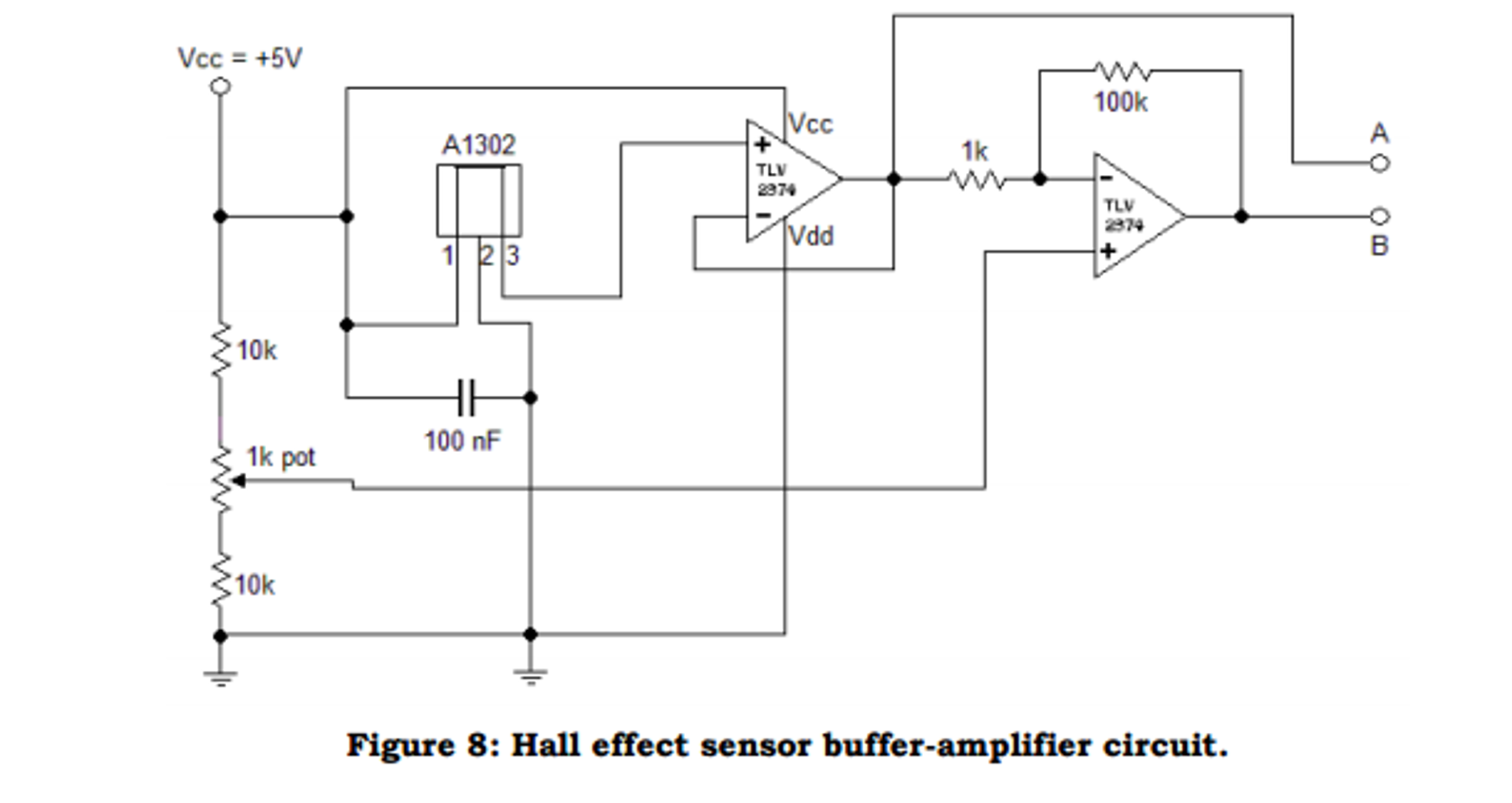 A1302 Hall Effect Sensor Circuit Experience Of Wiring Diagram Current Images Gallery