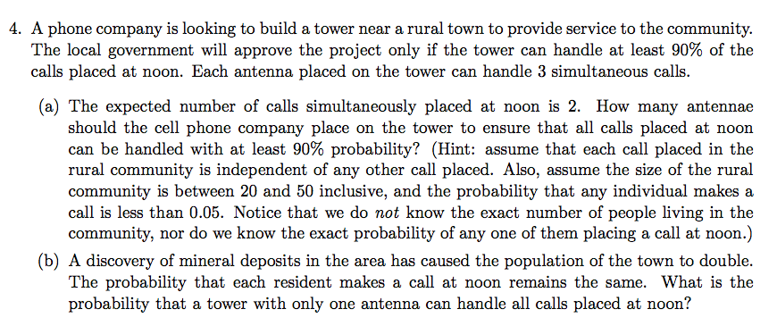 Statistics and probability archive february 04 2017 chegg 4 a phone company is looking to build a tower near a rural town to fandeluxe Choice Image