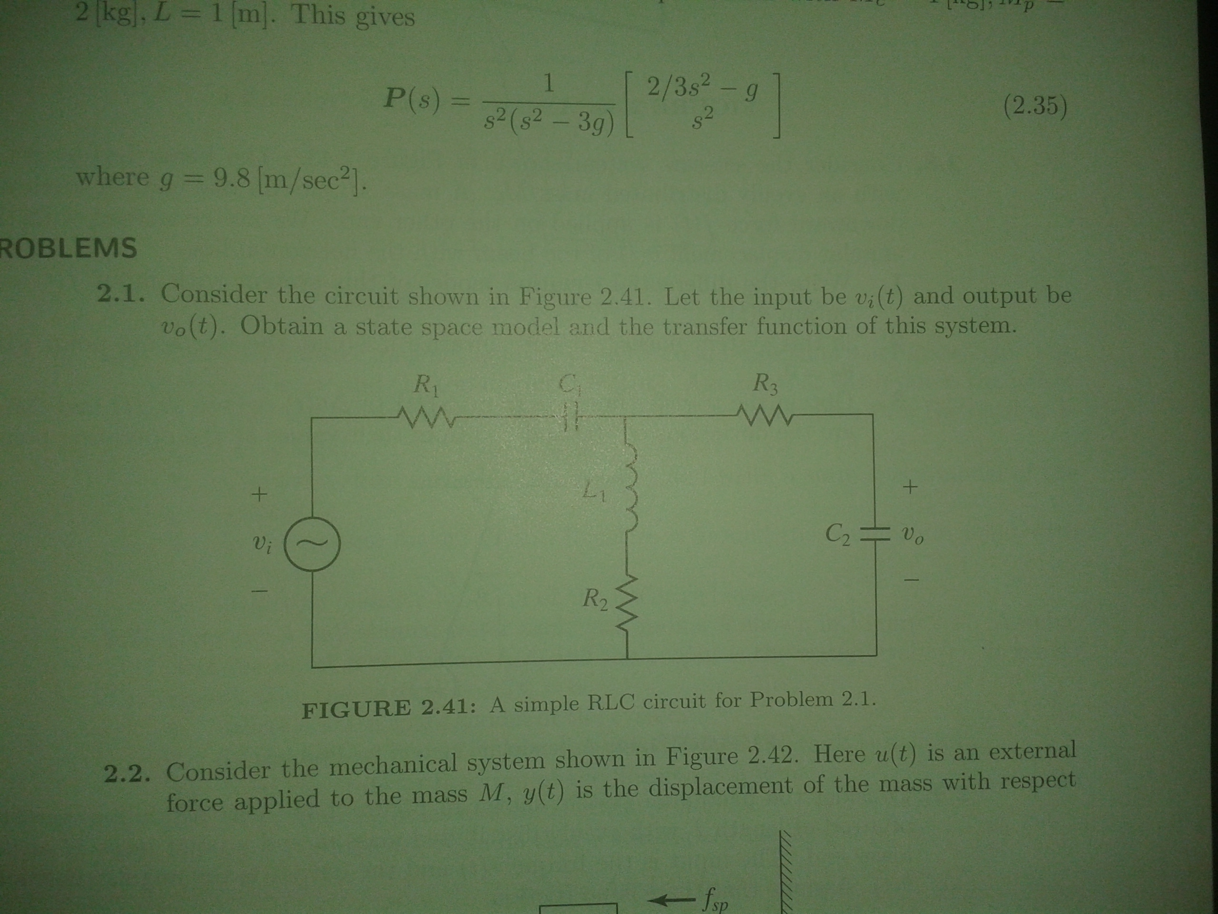 Solved Consider The Circuit Shown In Figure 241 Let Circuits Simple Series And Parallel Help With Transfer Functions Show Step By See More Transcribed Image Text