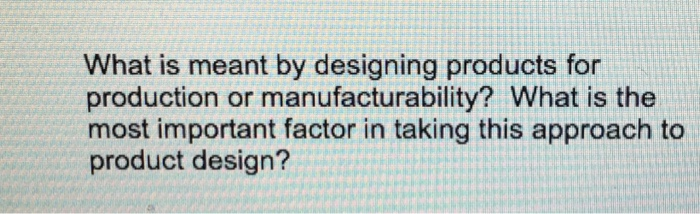 which is the most important factor of production