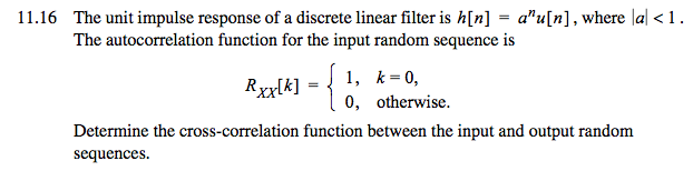 The Unit Impulse Response Of A Discrete Linear Fil    | Chegg com