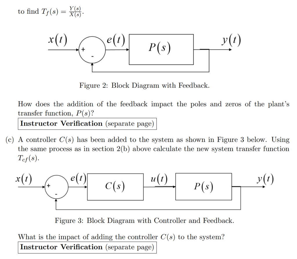 Solved 2 Understanding Block Diagrams 21 Feedback Cont P Controller Diagram See More Show Transcribed Image Text Controllers A Typical System Can Be Modeled Within Certain