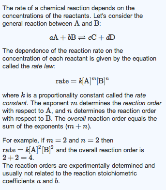 Rate of reaction coursework help