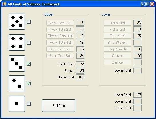Solved: -Create The Game Of Yahtzee In JAVA FX  The Progra