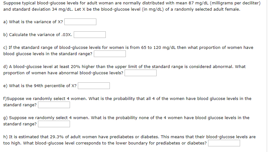 What Should the Blood Sugar Count Be for a 66 Year Old.