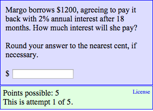 How Much Interest Will I Pay >> Solved Margo Borrows 1200 Agreeing To Pay It Back With