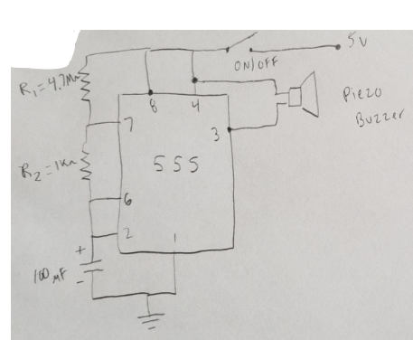 Superb Solved The Below Beeper Circuit Project Needs To Be Surfa Wiring Cloud Strefoxcilixyz