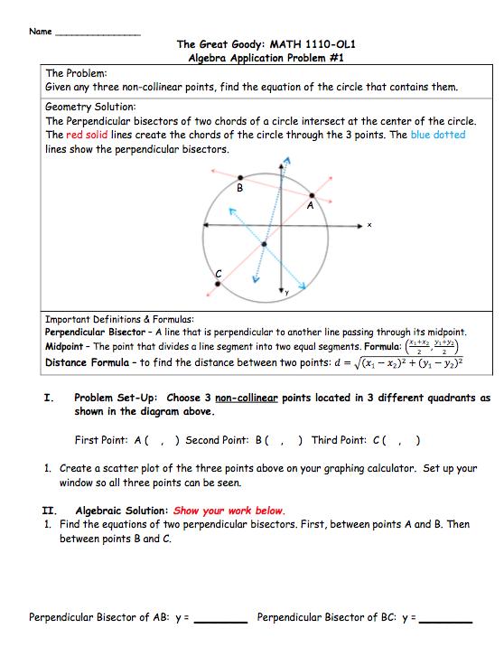 Solved: Name The Great Goody: MATH 1110-OL1 Algebra Ap Cat ...