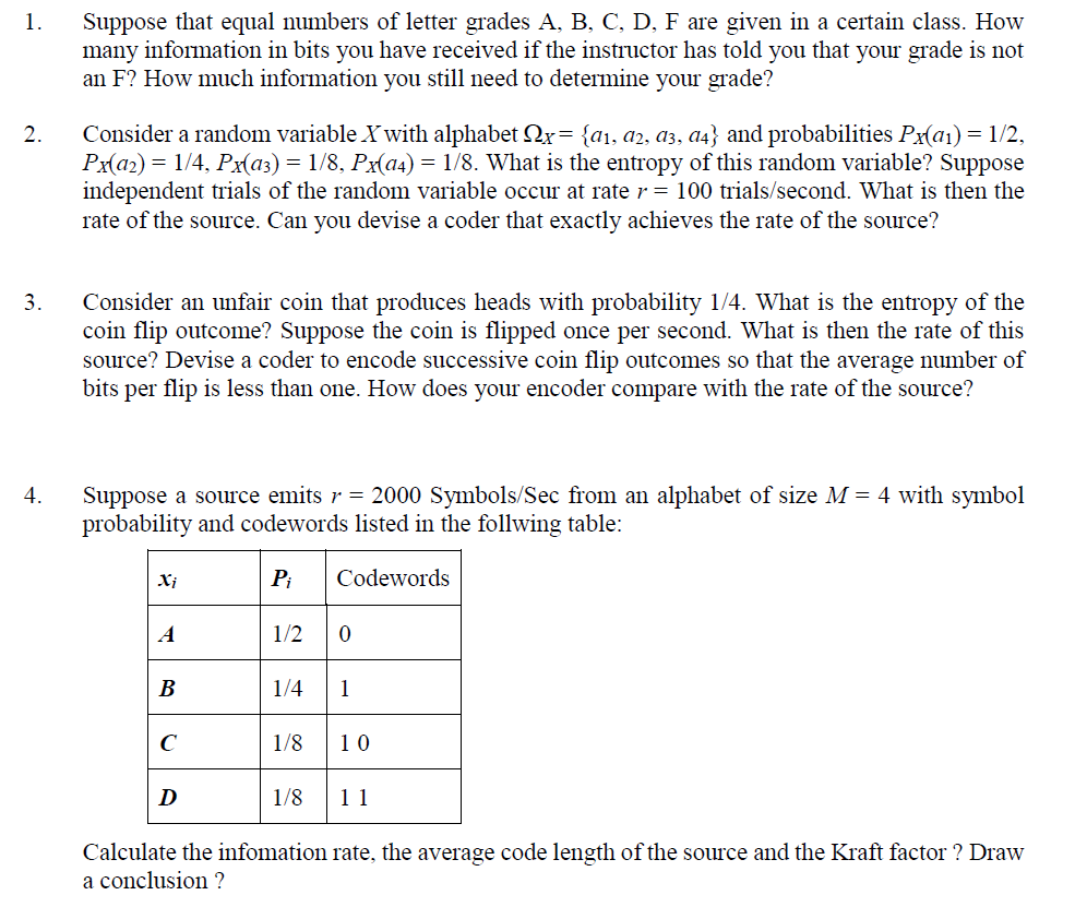 Grade Number To Letter.Solved 1 Suppose That Equal Numbers Of Letter Grades A B