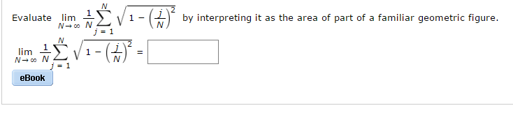 Calculus archive april 14 2017 chegg 1 answer evaluate lim by interpreting it as the area of part of a familiar geometric figure fandeluxe Gallery