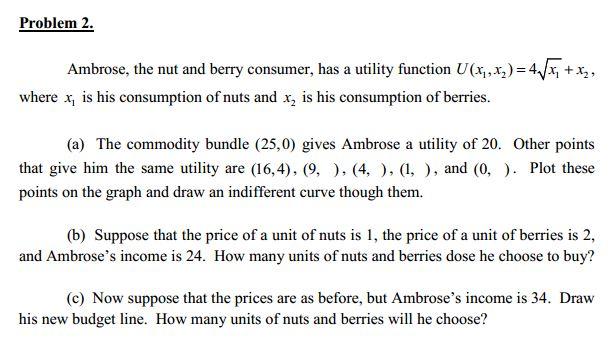 microeconomic statements essay