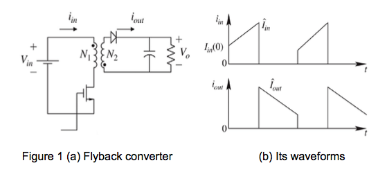 Solved Refer To The Given Flyback Converter Circuit Diagr