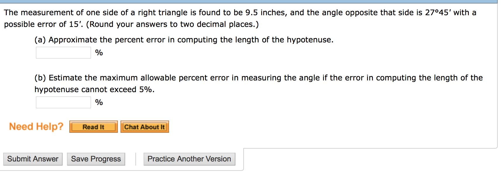 angle approximation