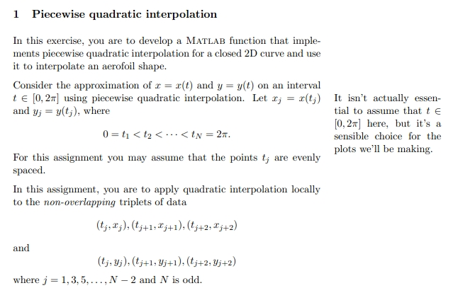 Solved: This Is A Numerical Methods Matlab Question!! Plea