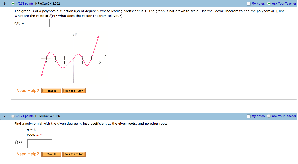 Precalculus archive july 31 2016 chegg the graph is of a polynomial function fx of degr falaconquin