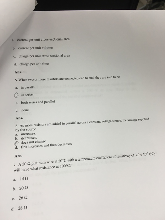 Solved: PHYS 113 (General Physies II- Lec) Test #3 (Chapte