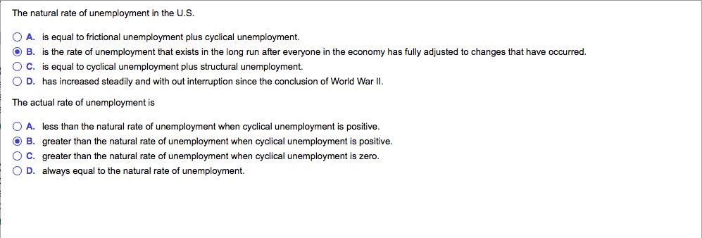 solutions for cyclical unemployment