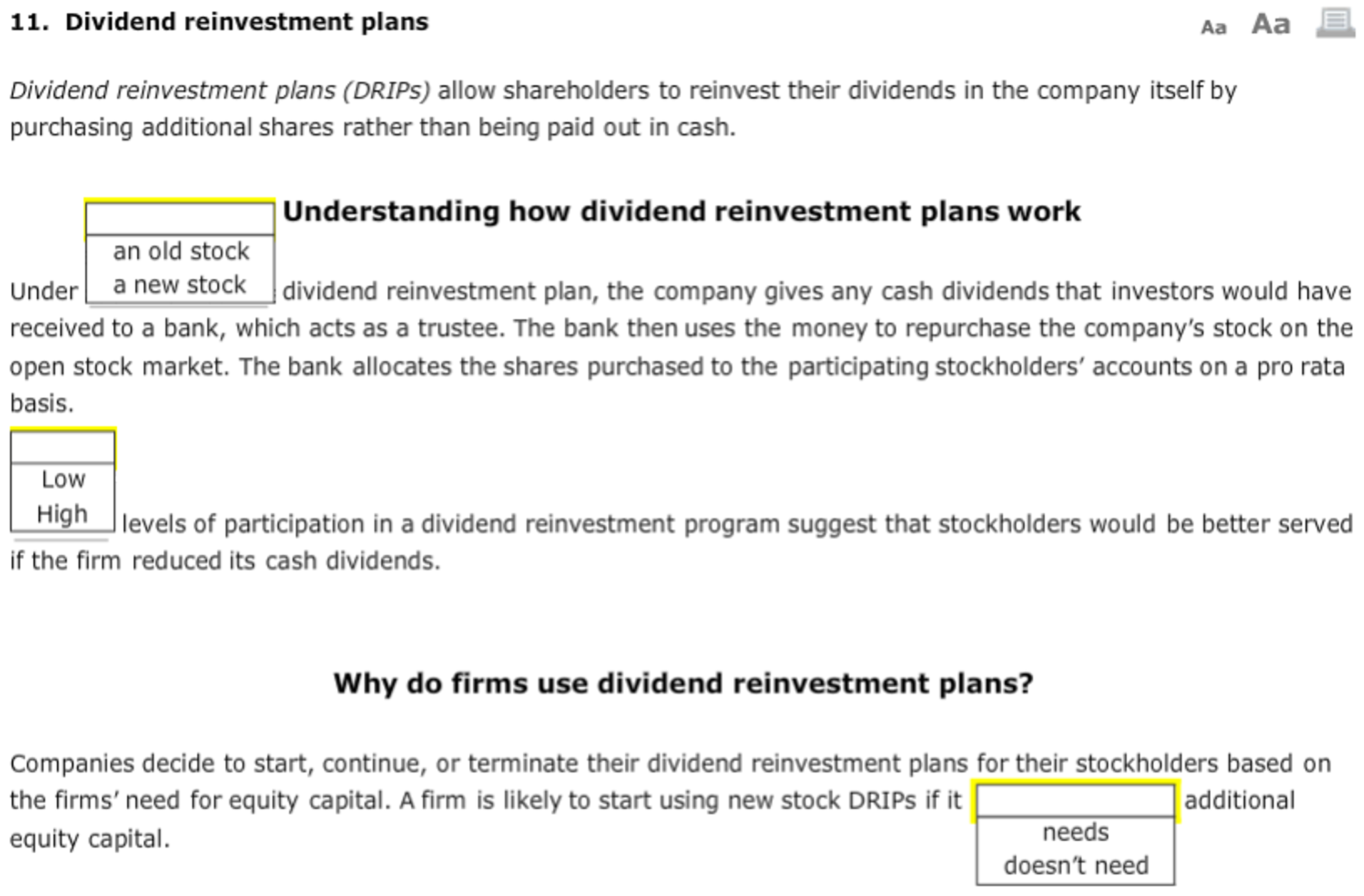 Chesnara dividend reinvestment plan companies cameroon investment climate in the philippines