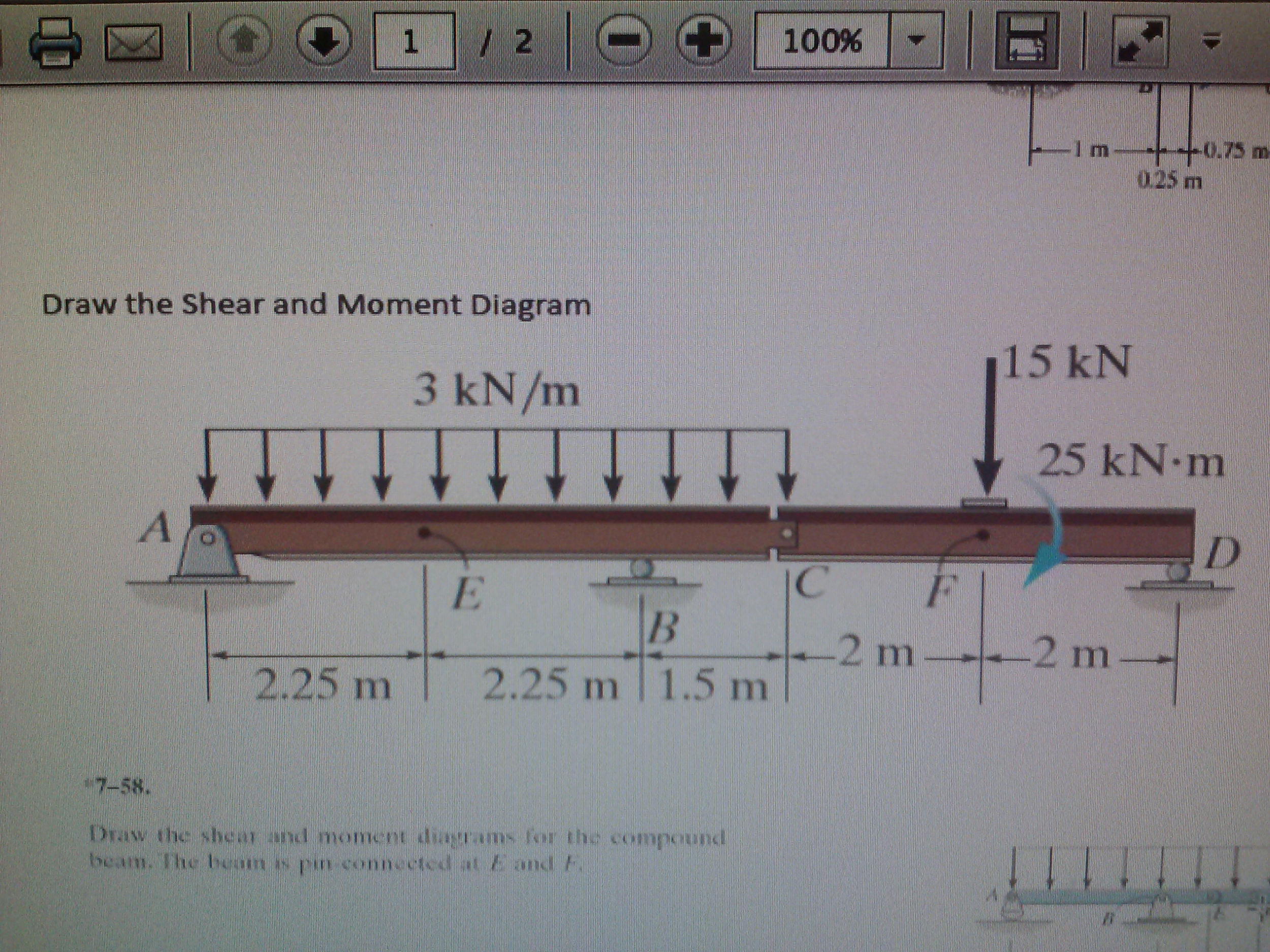 Draw The Shear And Moment Diagram A Transcribed Image Text Bending Diagrams See More Show