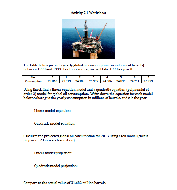 2 Times Table Worksheets Pdf Advanced Physics Archive  August    Cheggcom Unit Rate Practice Worksheet Word with Free Physical Science Worksheets Excel Activity  Worksheet The Table Below Presents Yearly Global Oil  Consumption In Millions Of Barrels Multiplying Rational Expressions Worksheet Pdf