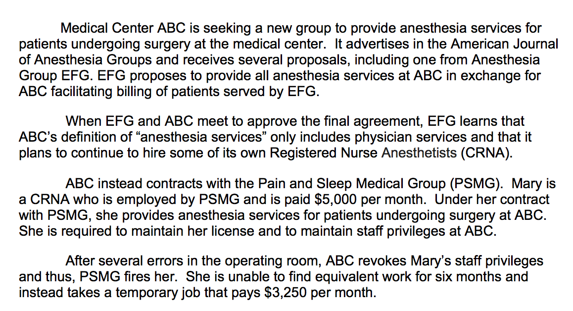 Solved Contracts 1 Was A Contract Formed Between ABC Med