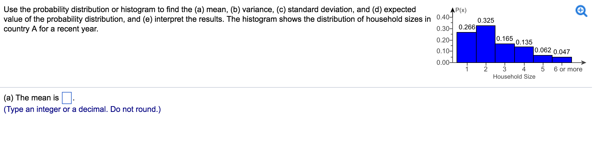 Use The Probability Distribution Or Histogram To F