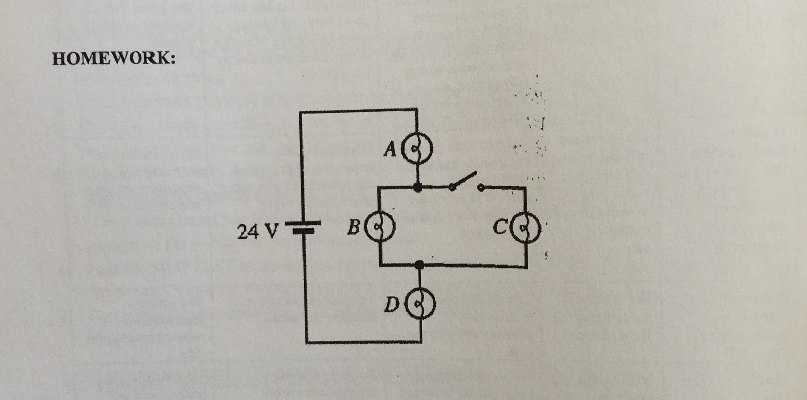 Solved: A Battery Is Connect To The Following Four Identic ...