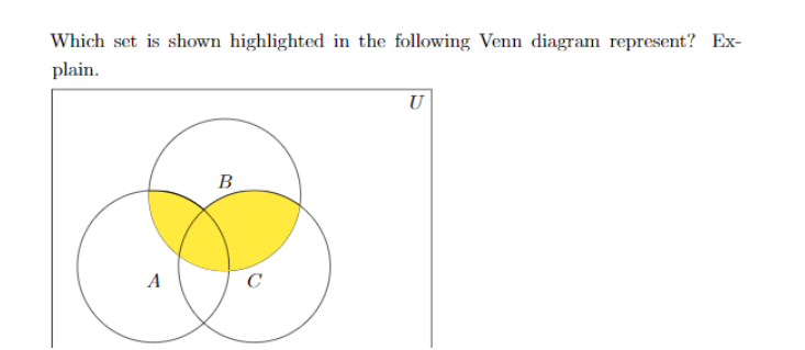 Solved Which Set Is Shown Highlighted In The Followingvv