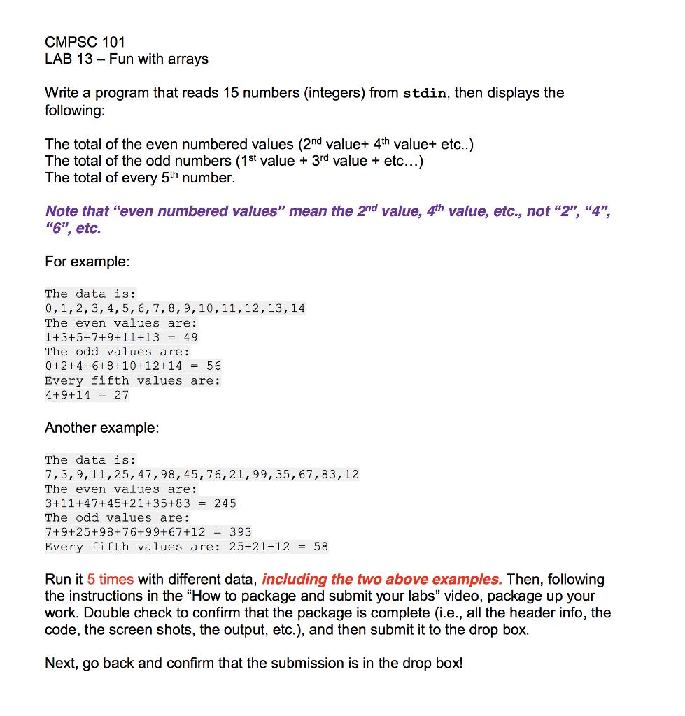 How to write output 16