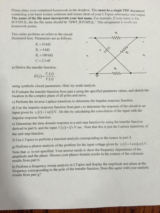 completed homework