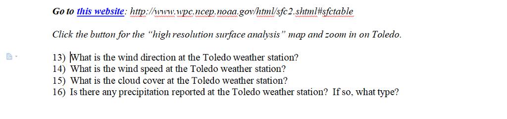 Weather Station Symbols Wind Speed Kphmph Preci Chegg