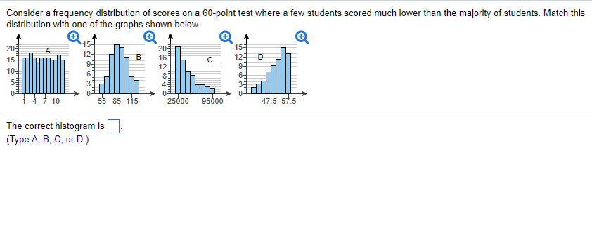Statistics and probability archive february 08 2018 chegg consider a frequency distribution of scores on a 60 point test where a few students fandeluxe Images