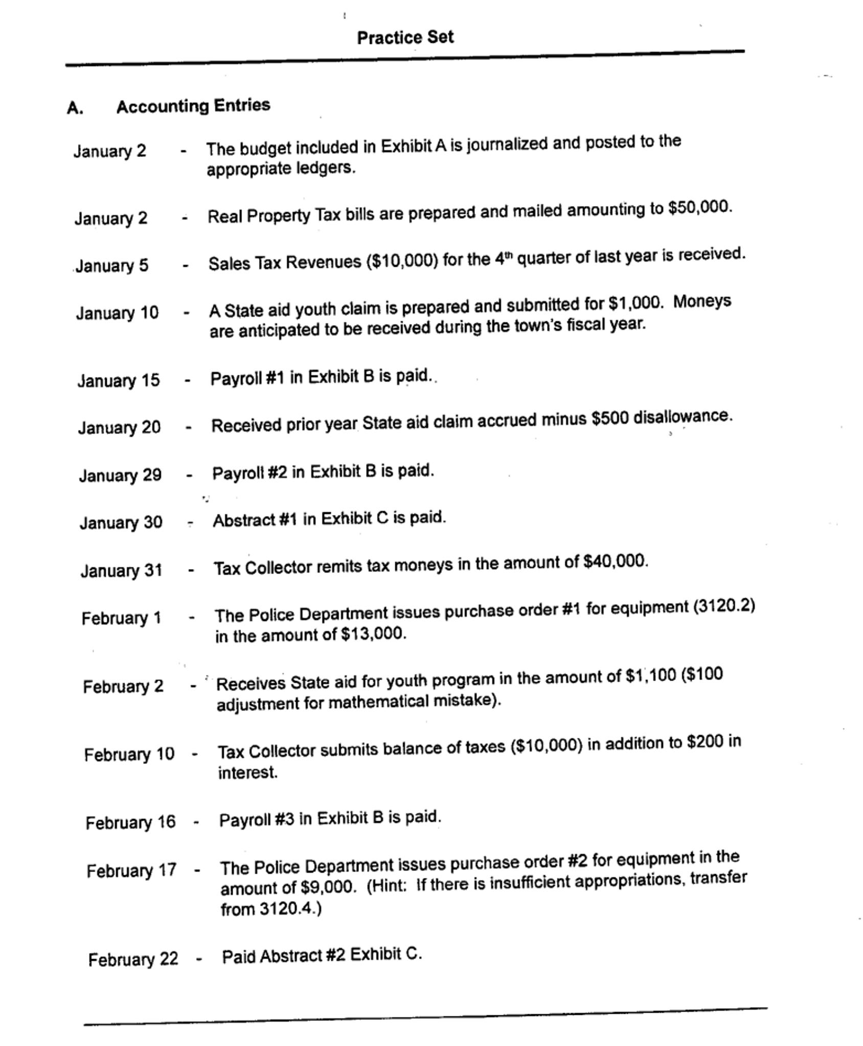 General Fund-General Ledger Account Codes Only Par