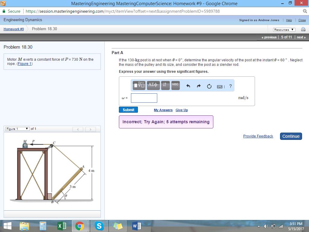mastering engineering dynamics