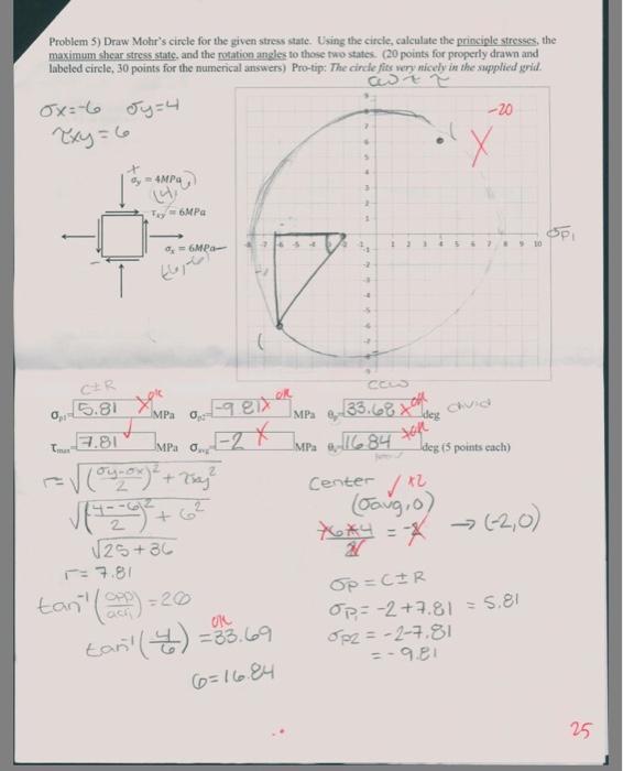 Mohrs Circle Calculator — Sayno2Legalcrime
