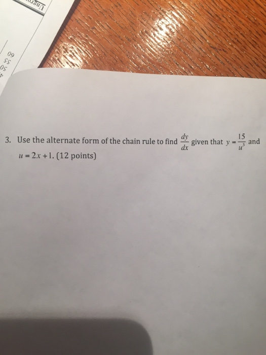 Calculus archive february 12 2015 chegg image for 3 use the alternate form of the chain rule to find dy fandeluxe Gallery