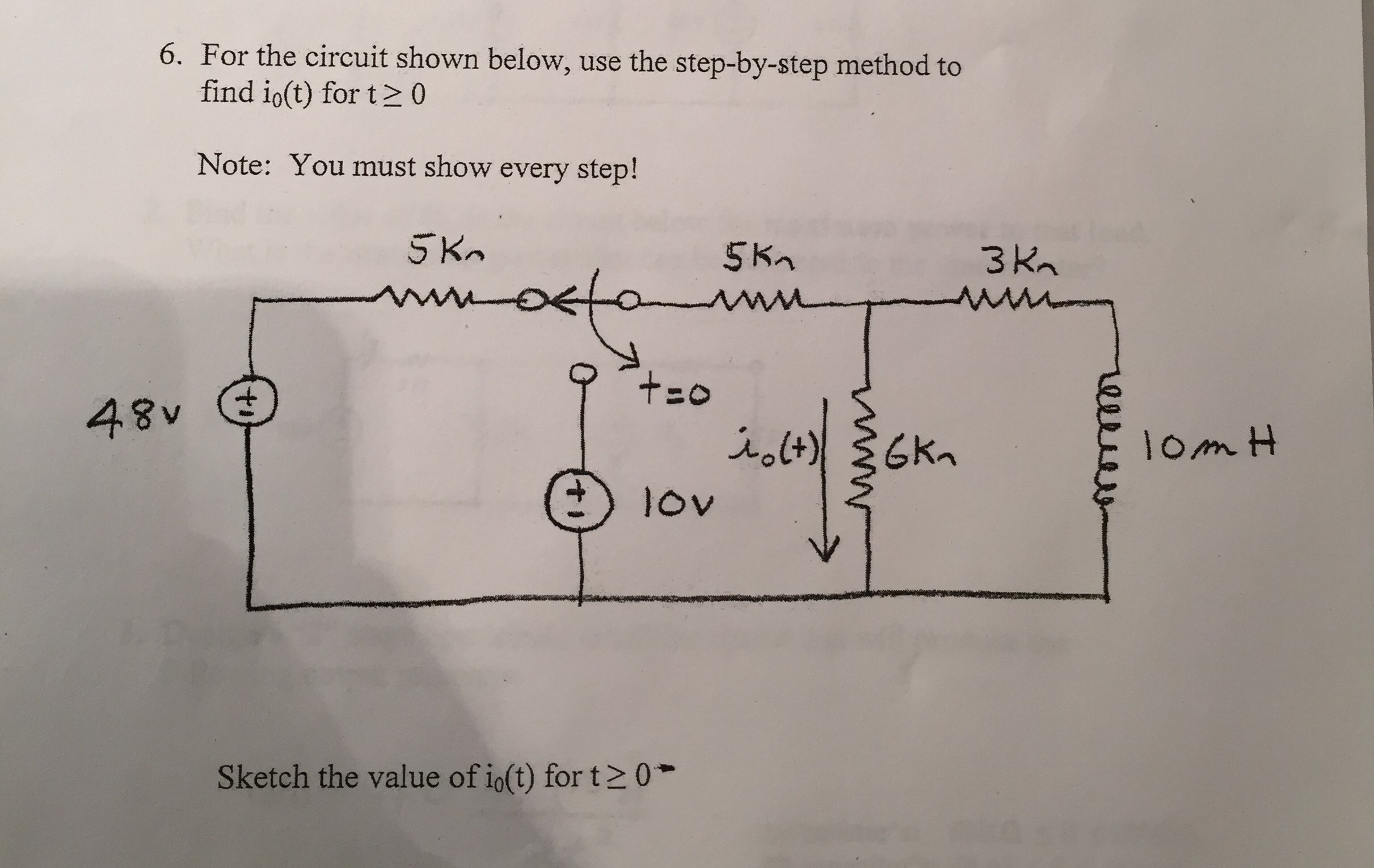 cover letter for telecommunications%0A For the circuit shown below  use the stepbystep